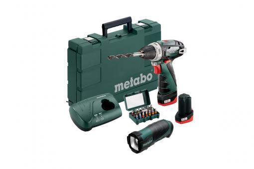 Metabo PowerMaxx BS Basic Set Akku-Bohrschrauber - 600080930