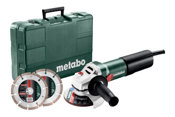 Metabo WQ 1100-125 Set - 610035510 - Winkelschleifer
