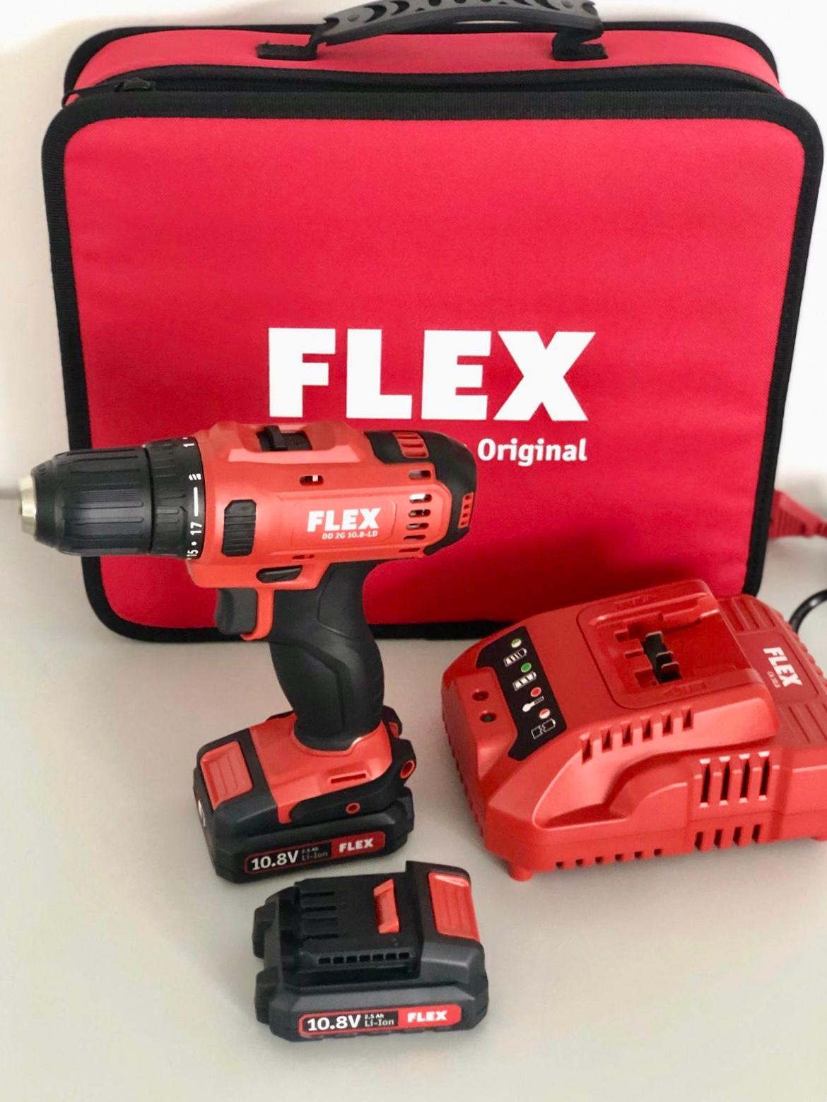 c-tools24 werkzeughandel | flex 10,8 volt akkuschrauber - dd2g 10,8
